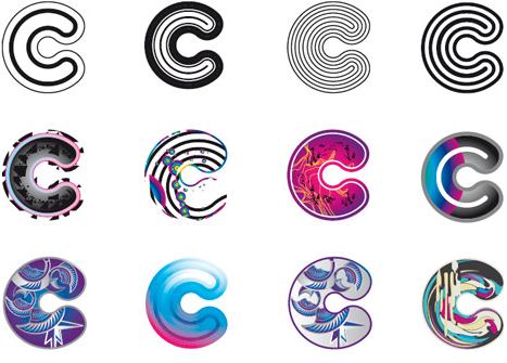 Det levende logo