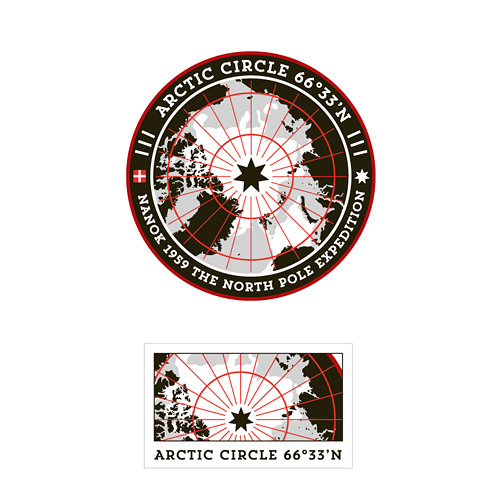 Nanok Arctic Circle badge