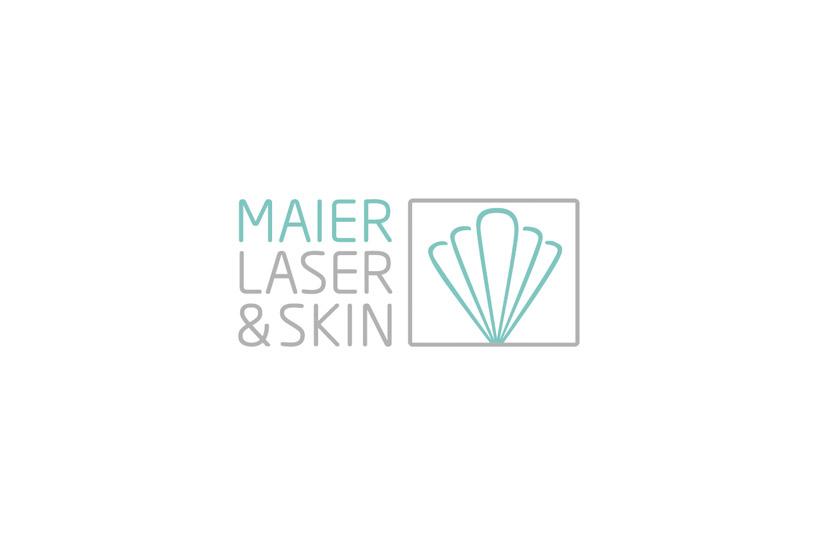 Logo design Maier Laser & Skin