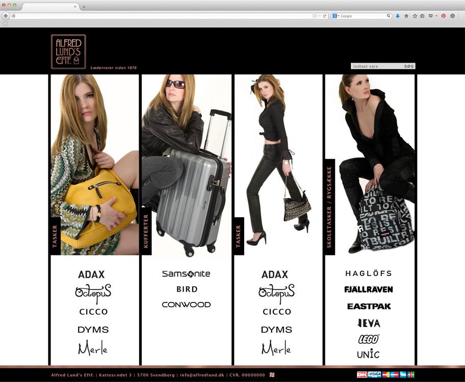 Alfred Lund webshop