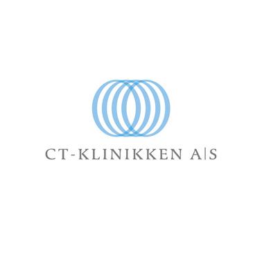 CT-Klinikken logo design