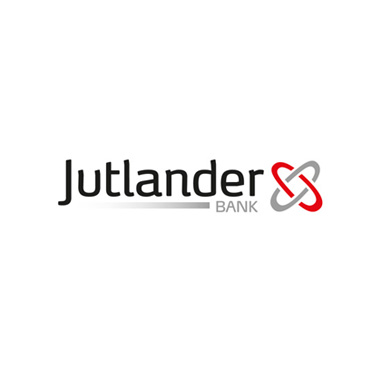 Jutlander Bank logo design