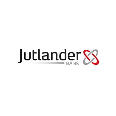 Jutlander Bank logo design