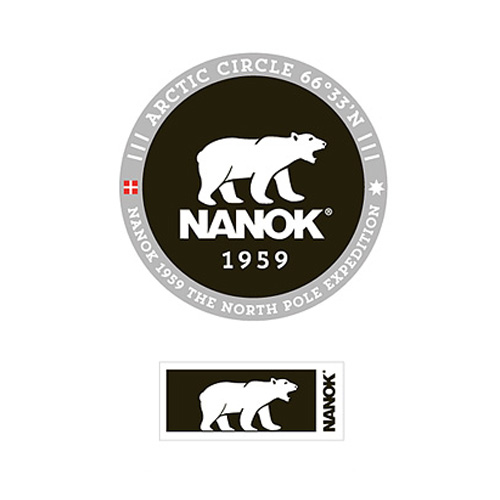 Nanok Isbjørn badge