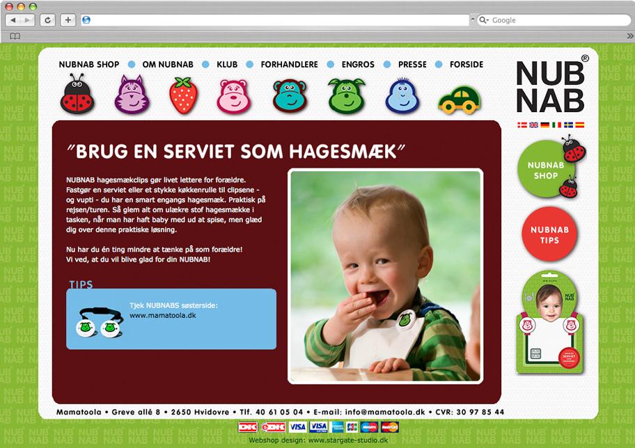 Nubnab webshop