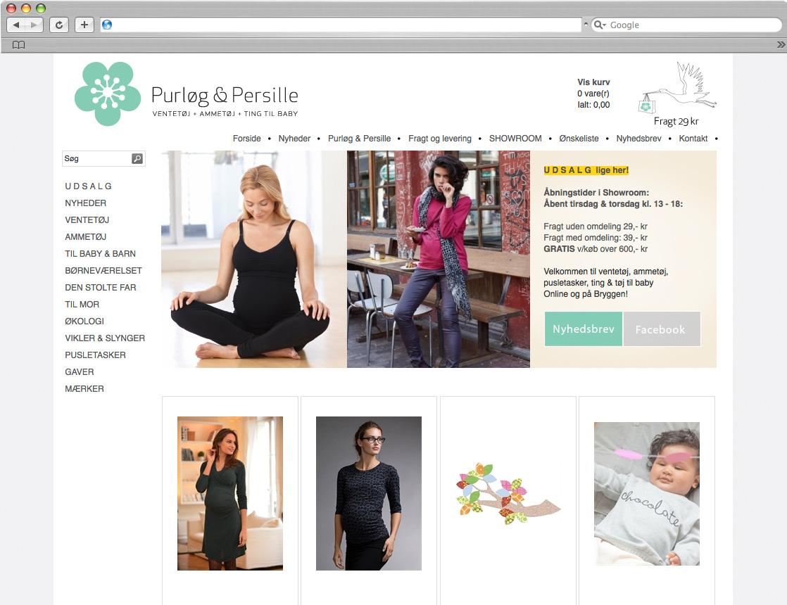 Purløg & Persille webshop