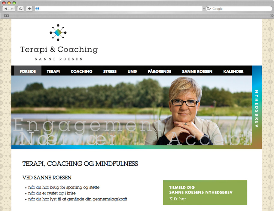 Terapi & Coaching website