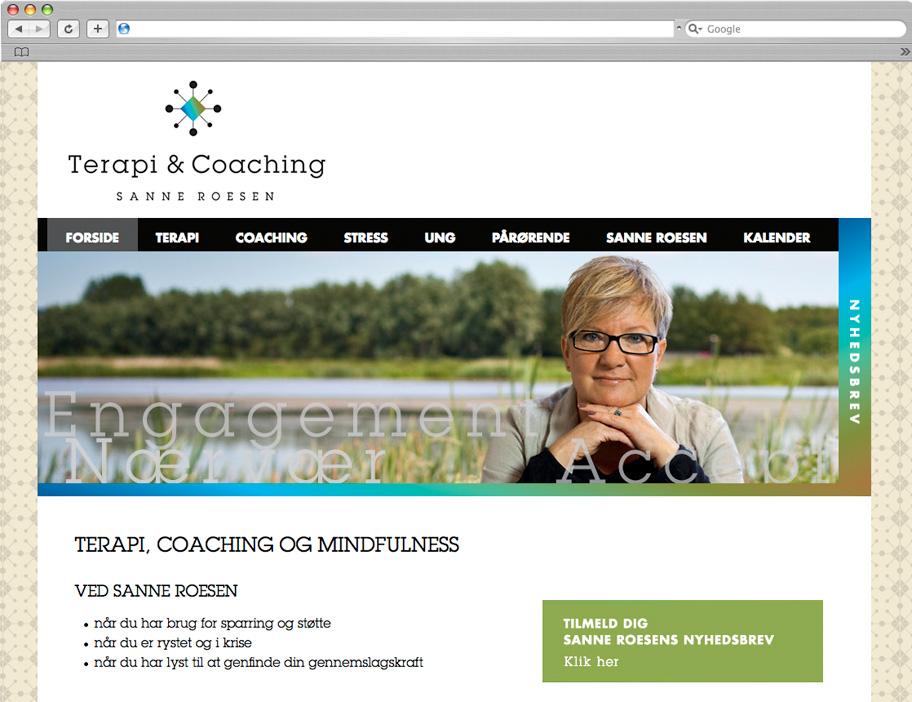 Terapi & Coaching website