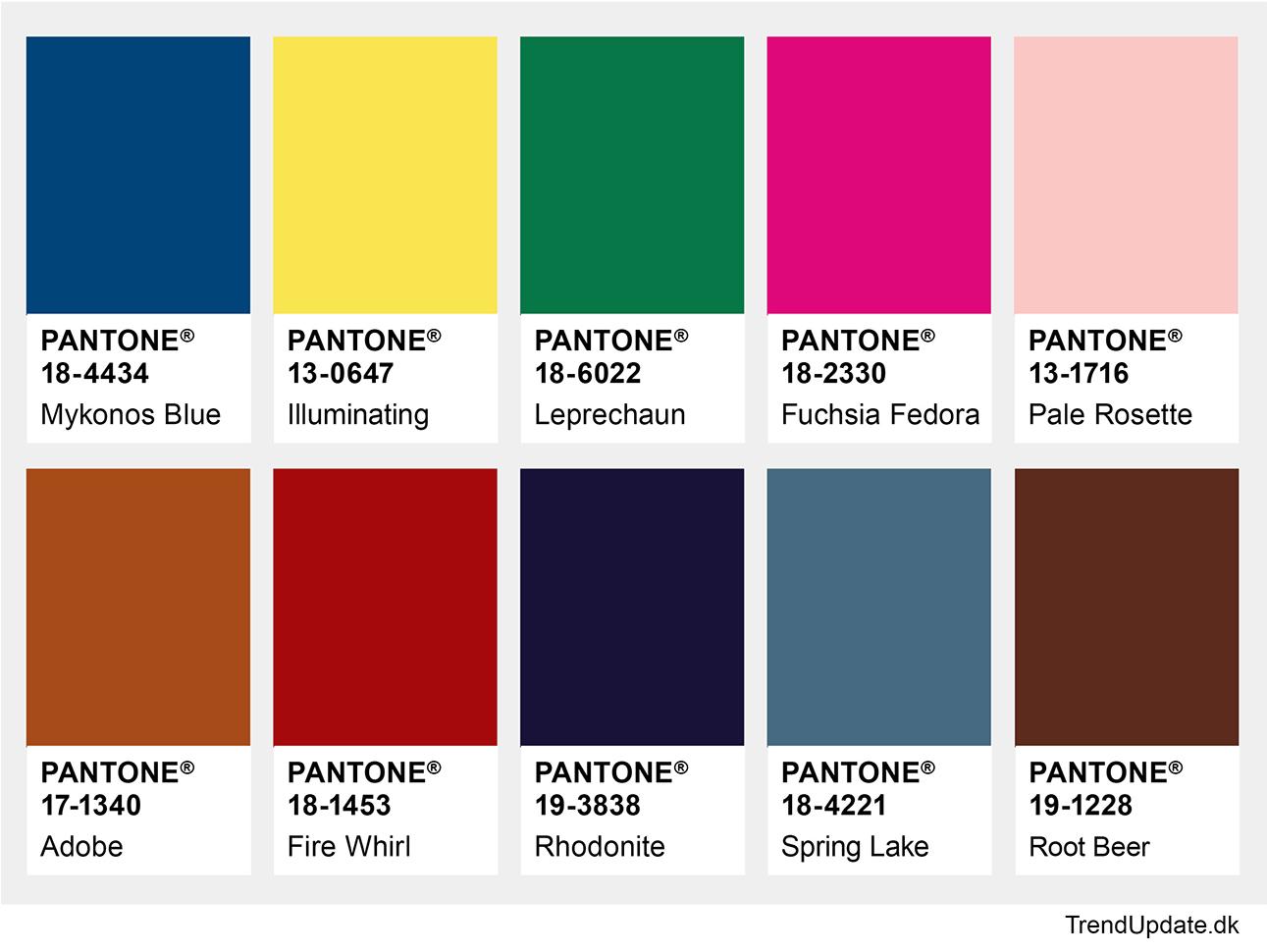 Color autumn winter 2021-2022 New York