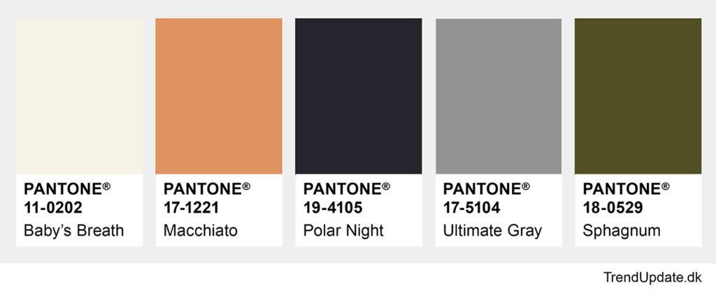 Modefarver forår 2021 neutrale farver