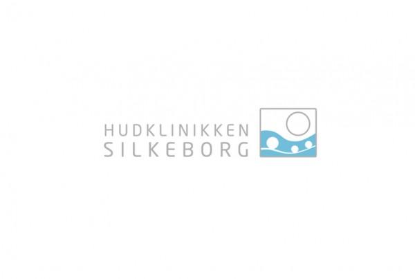 Hudklinikken Silkeborg logo design