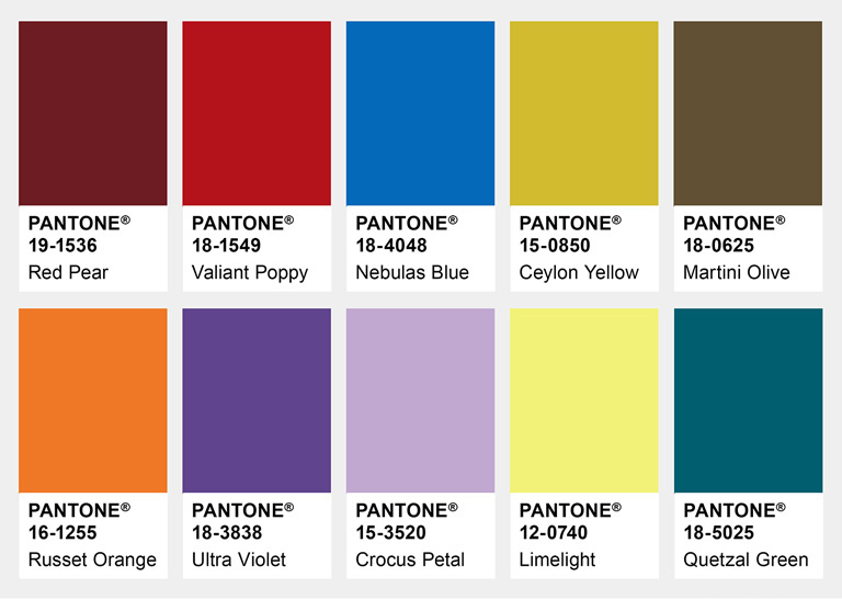 Modefarver Fall NewYork 2018